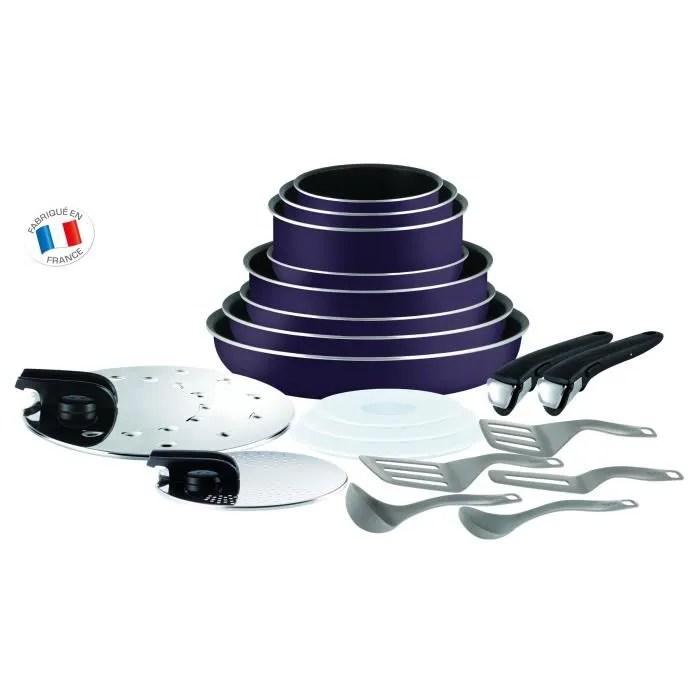 Batterie Cuisine Tefal Ingenio Induction