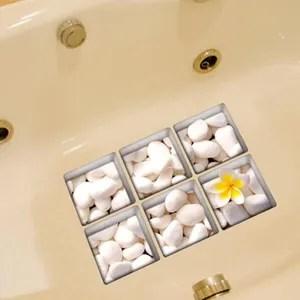 stickers 3d art autocollants antiderapant pour baignoire ta