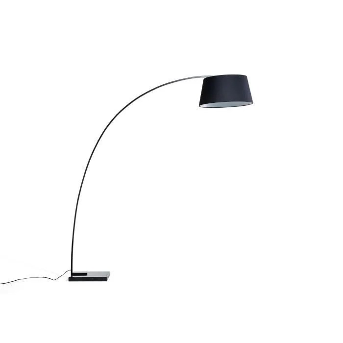 Lampadaire design  luminaire  lampe de salon  noir  Benue  Achat  Vente Lampadaire design