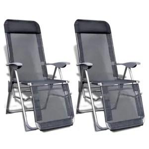 fauteuil jardin p ensemble de chaises de camping aluminium pl