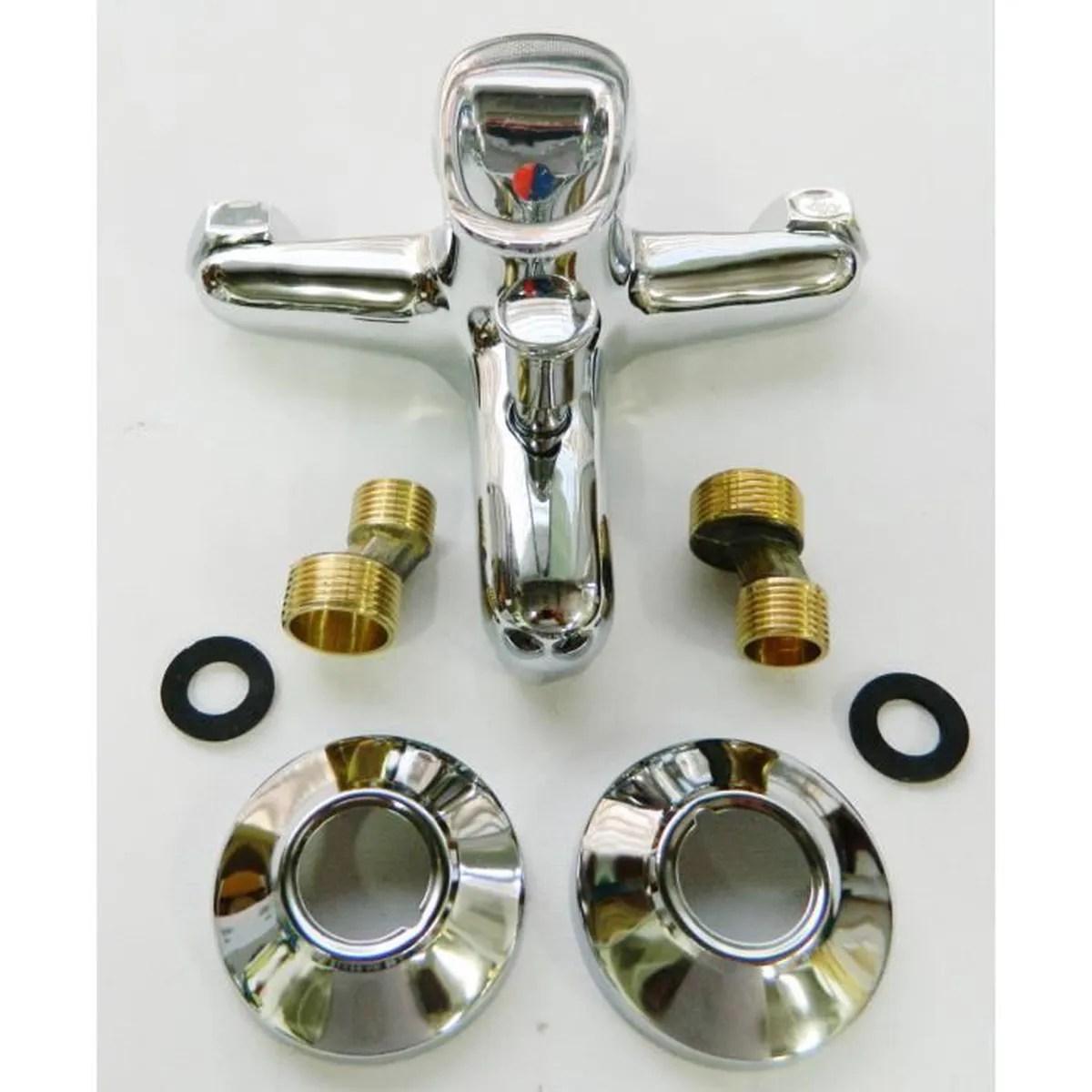 Robinet mitigeur salle de bain eau douche plomberie