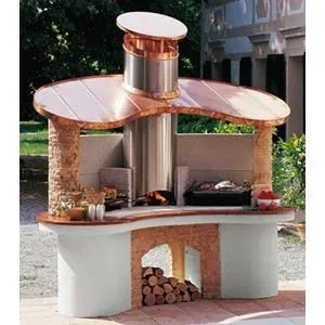 Maison Jardin Plein Air Barbecue En Pierre Sumatra F Lek L