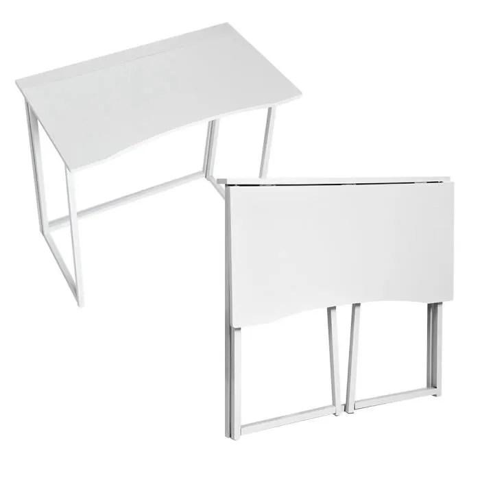 meuble informatique bureau d ordinateur table de bureau pliable table d ordinateur portable pliante table d etude