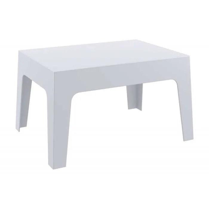 Table Basse De Jardin En Plastique