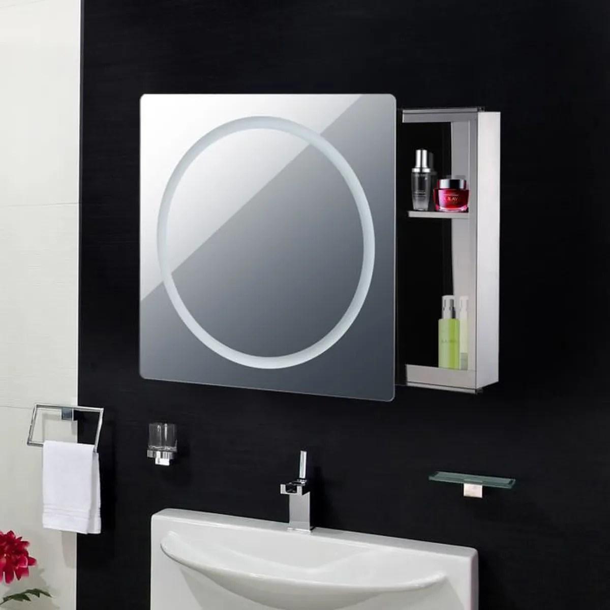 Armoire De Toilette Salle De Bain Miroir Murale