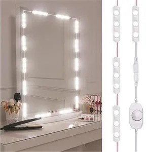 bande ruban led lumiere led miroir de maquillage lumineux decorati