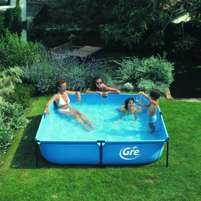 Piscine Enfant GRE Hors Sol Tubulaire Jet Pool   Achat