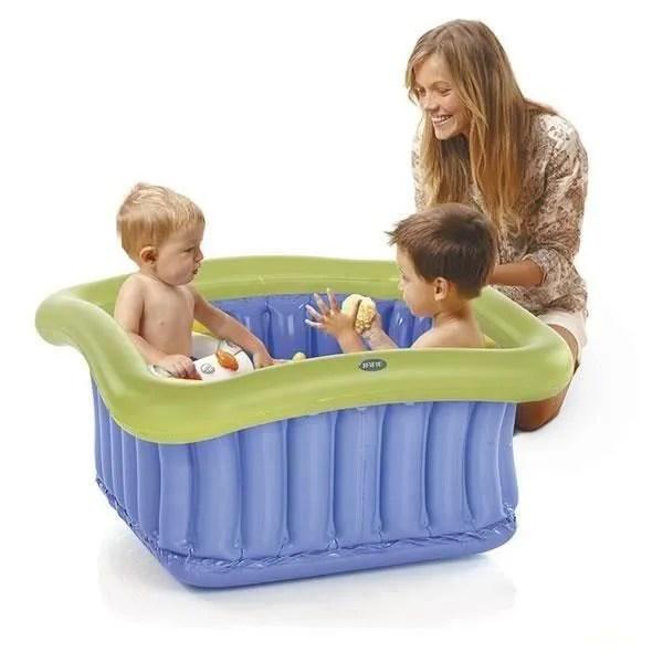 jane baignoire de douche bleu et vert