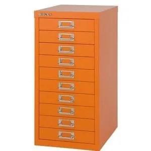 armoire de bureau bisley armoire a tiroir basic a4 10 tiroirs j
