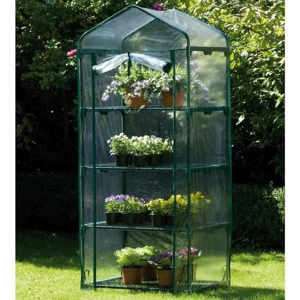 Mini serre 4 niveaux  Achat  Vente serre de jardinage