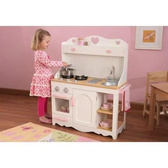 La cuisine dinette en bois complet avec meuble  Achat  Vente dinette  cuisine  Cdiscount