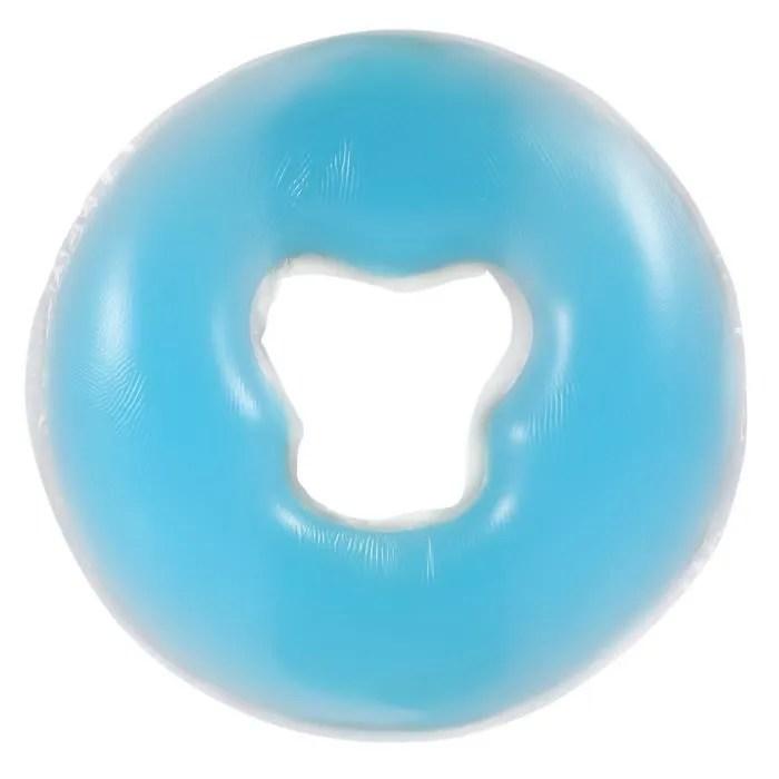 coussin de massage du visage pour spa bleu dq france