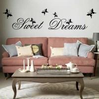 Sweet Dreams WALL ART CHAMBRE VINYL Dcor autocollant ...