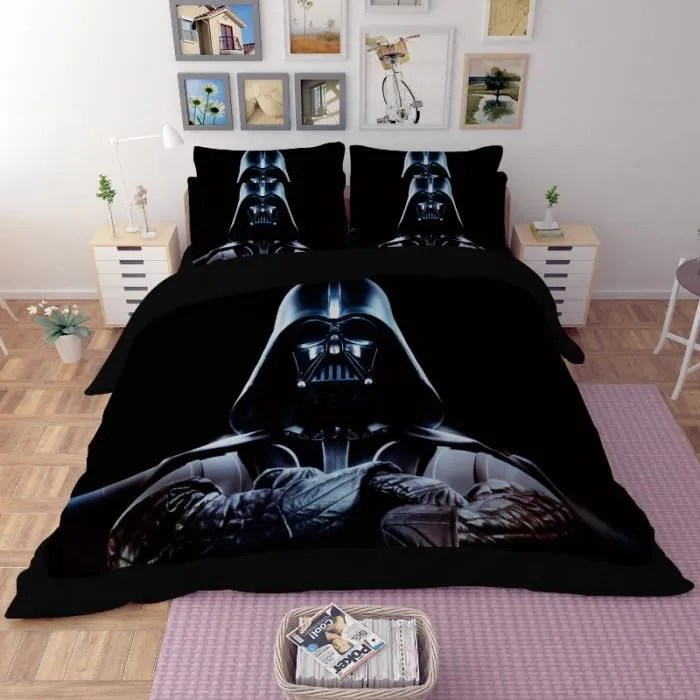 Parure de lit Star Wars Darth Vader 220240 cm 4 pieces