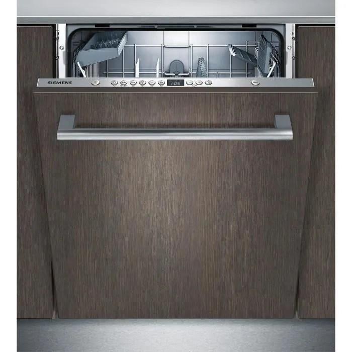 Siemens Sn636x00ae Lave Vaisselle Tout Encastrable 12 Couverts 48db A L60 Cm Moteur Induction