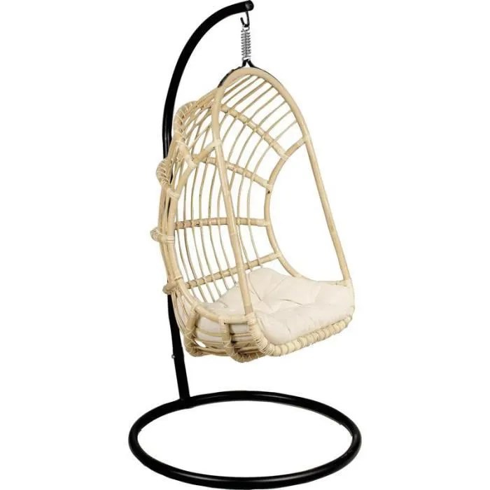balancelle sur pied en rotin non corc achat vente balancelle balancelle sur pied en roti balancelle 1 place apsip com