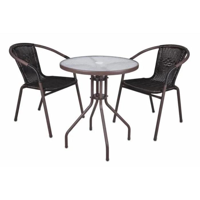 Table Bistrot Et Chaises Table Et Chaise Bistrot Aluminium