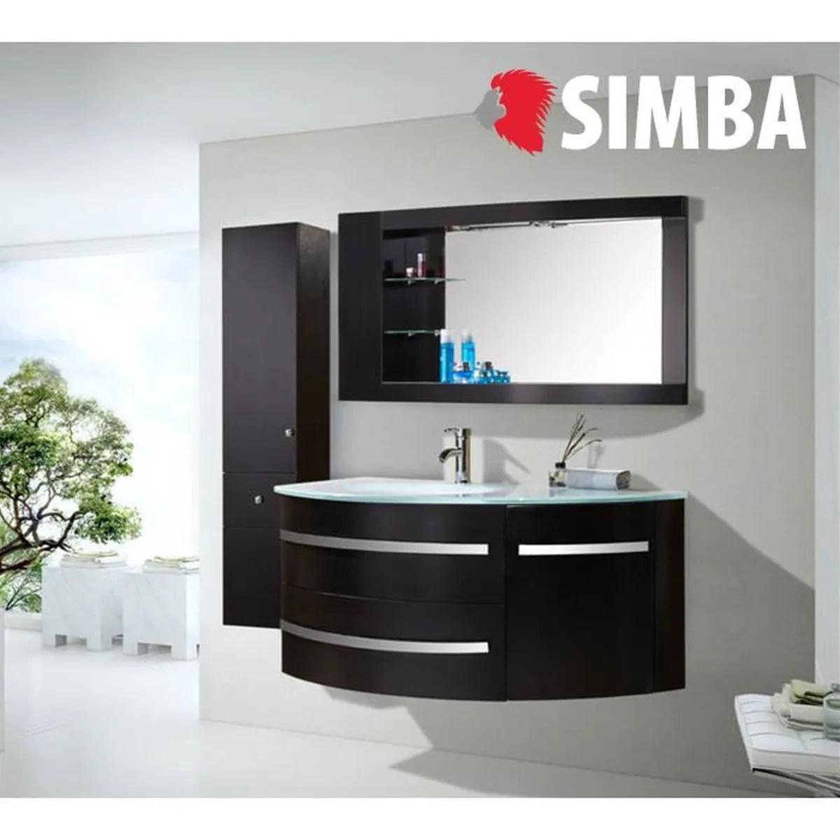 Meuble salle de bain avec vasque noir  Achat  Vente Meuble salle de bain avec vasque noir pas