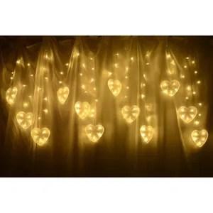 Guirlande lumineuse coeur  Achat  Vente pas cher