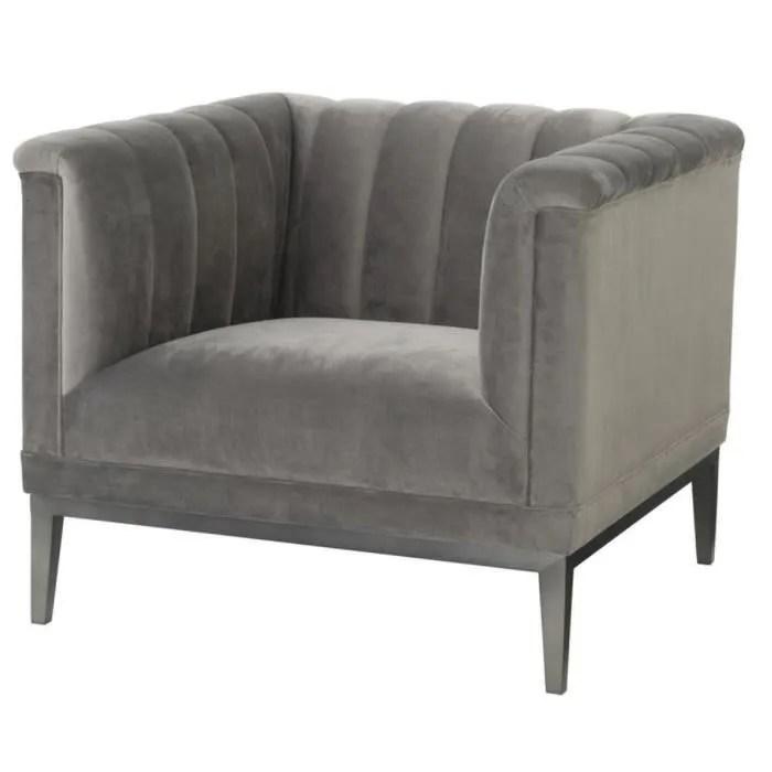 affordable casa padrino gris fauteuil de luxe x x h cm meubles de salon with pouf poire casa