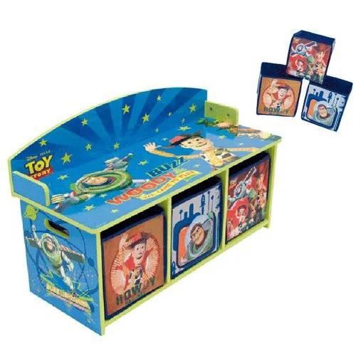 Banc Avec Casiers De Rangement Toy Story Achat Vente