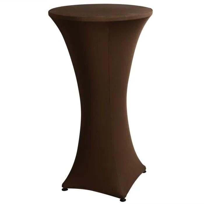 housse tables de bar couverture de table