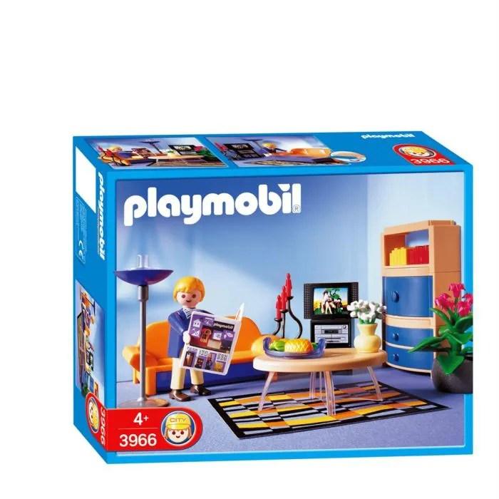 Salon Maison Moderne Playmobil | Table De Bar Avec Tabouret ...