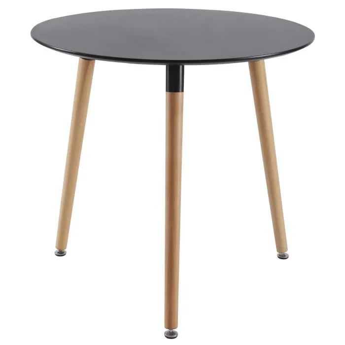 Table Ronde Extensible Scandinave.Table Ronde Extensible Scandinave