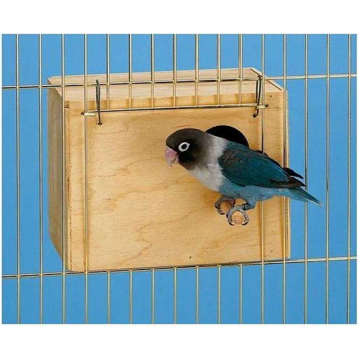 Nid en bois pour oiseaux  medium  Achat  Vente nichoir  nid Nid en bois pour oiseaux  Cdiscount