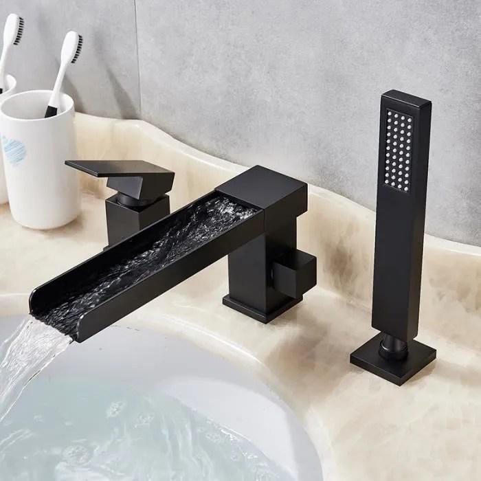 ideko robinet de baignoire ilot sur