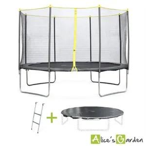 trampoline pack trampoline cm okapi avec filet echelle