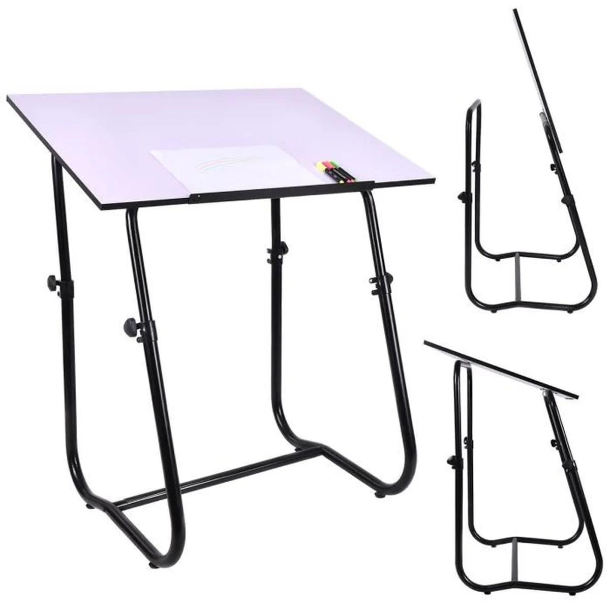 Table  dessin inclinable table de bureau multifonctionnel hauteur rglable  Achat  Vente
