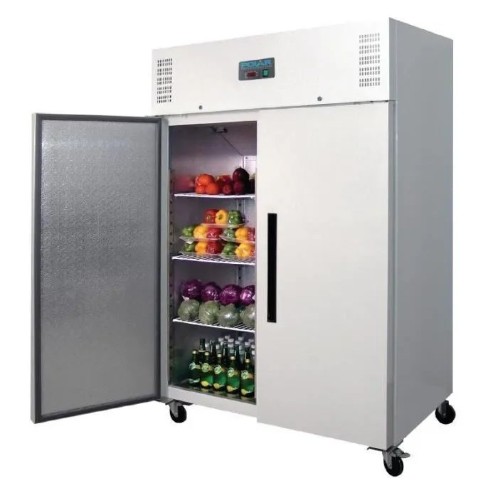 polar refrigeration armoire refrigeree polar 1200 litres