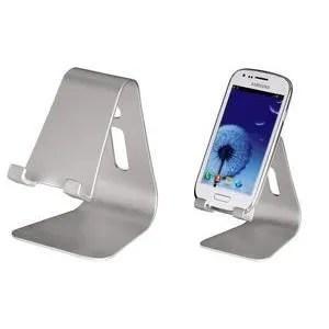 support smartphone stand plastique metall