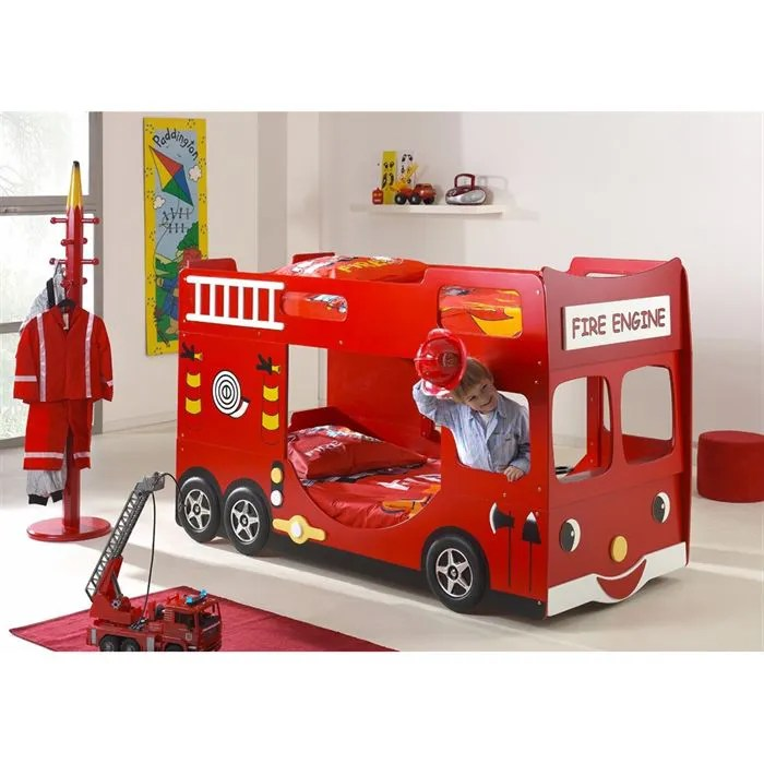 FUN BEDS Lits Enfant Superposs Camion De Pompier Achat