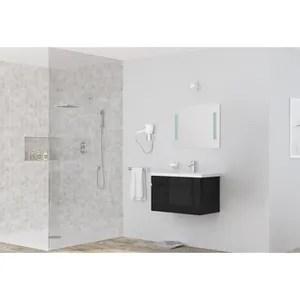 meuble vasque plan alban meuble sous vasque 80 cm simple vasque noi
