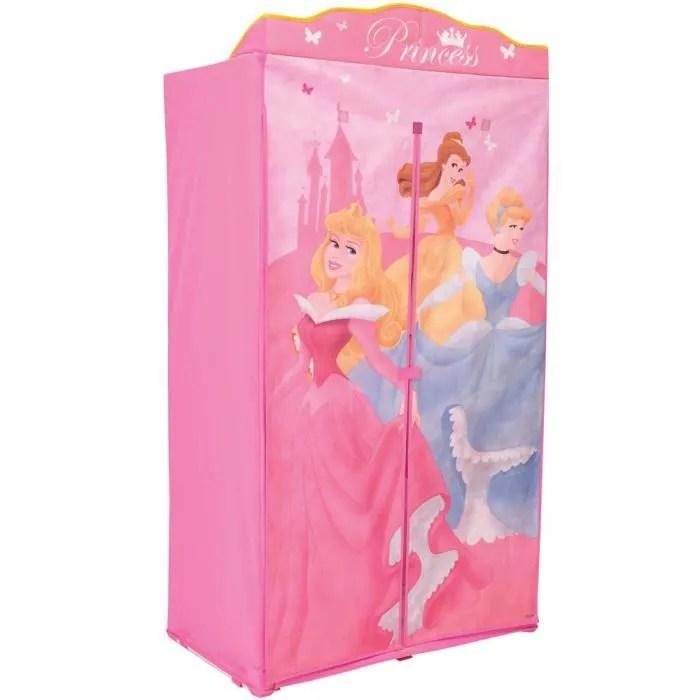 Armoire Penderie En Tissu Disney Princess Achat Vente