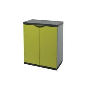 etabli meuble atelier tood armoire de rangement basse en resine 1 tablet