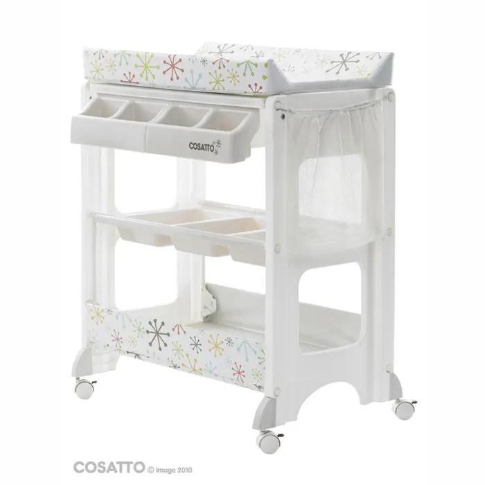 Cosatto Table à Langer Easi Peasi Zuton Blanc Achat
