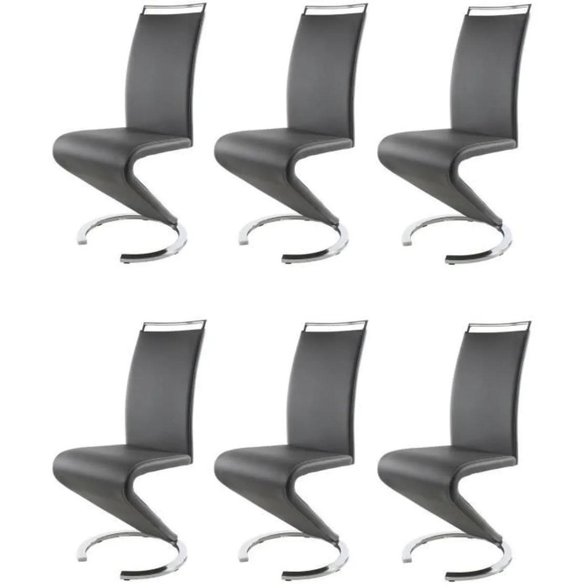 6 chaise de salon lot  Achat  Vente 6 chaise de salon