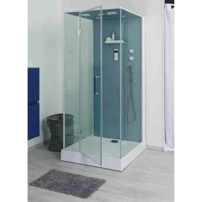 Cabine De Douche Sans Silicone Bria 100x90cm Achat