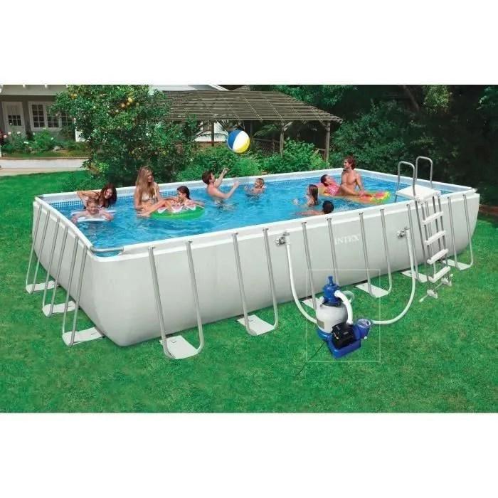 Kit piscine tubulaire 732 x 366 x 132 m Achat Vente