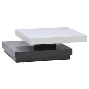Table Basse Vegas Table Basse Transformable Xcm Laque Bla