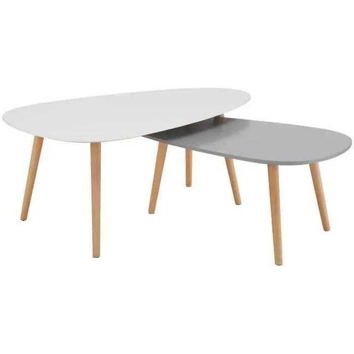 Table Basse Gigogne Fly Bois De Plancher Le Bois Chez Vous