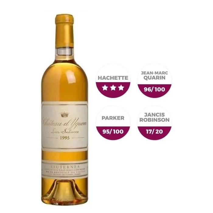 Château d'Yquem 1995 - Vin Blanc - Achat / Vente vin blanc Château d'Yquem 1995 - Cdiscount