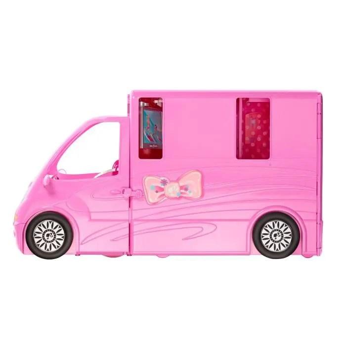 BARBIE Camping Car Achat Vente Maison Poupe Cdiscount