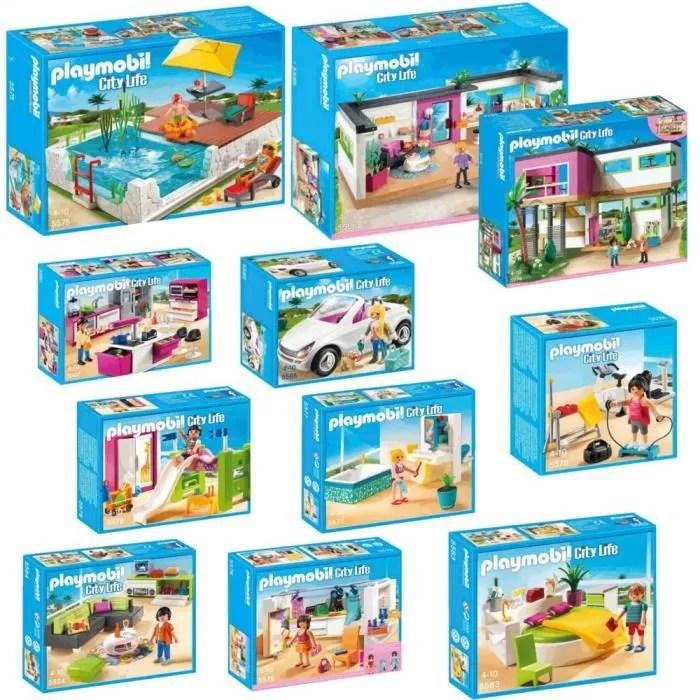Salon Moderne Playmobil 5584
