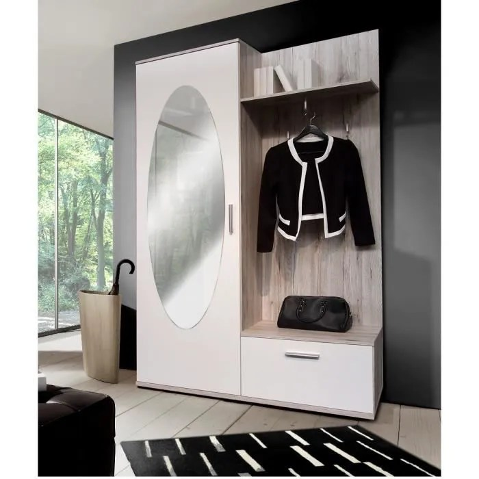 Meuble Entree Vestiaire Fly