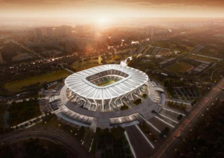 "Fan"" is here! Asian Cup Suzhou stadium design plan released - Teller Report"