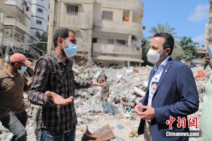 "ICRC spokesperson for the Gaza region: Gaza reconstruction needs three ""priorities""(1)"